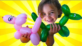 Balloon Modelling Party