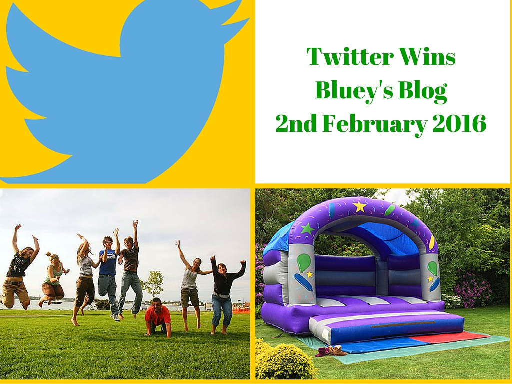 Twitter WinsBluey's Blog2nd February 2016